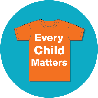 Orange shirt day button